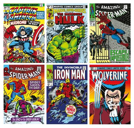 Marvel Superheroes - Portfolio of 6 - Summer 2016