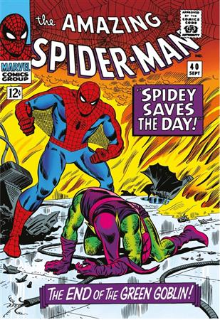The Amazing Spider-Man #40 - Spidey Saves The Day