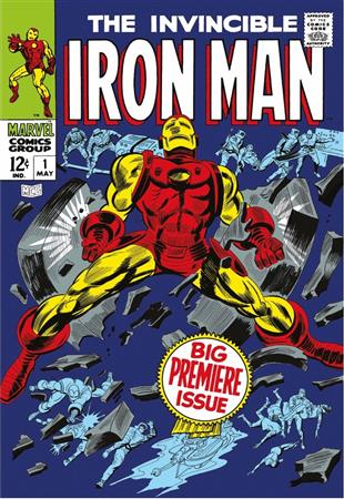 The Invincible Iron Man #1 - Big Premiere Issue